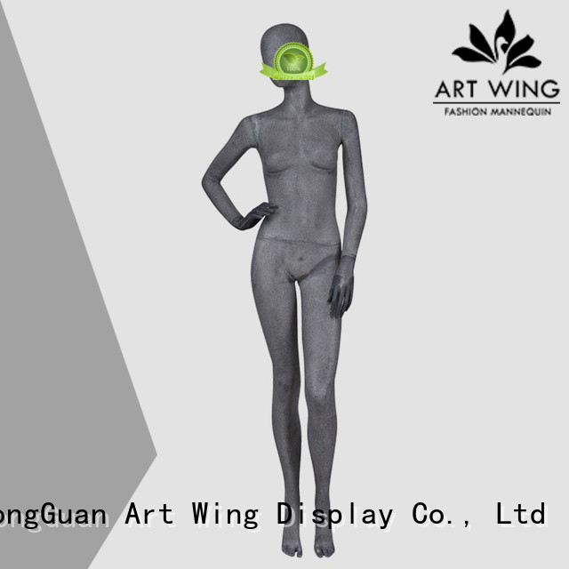 Art Wing reliable grey mannequin manufacturer for display