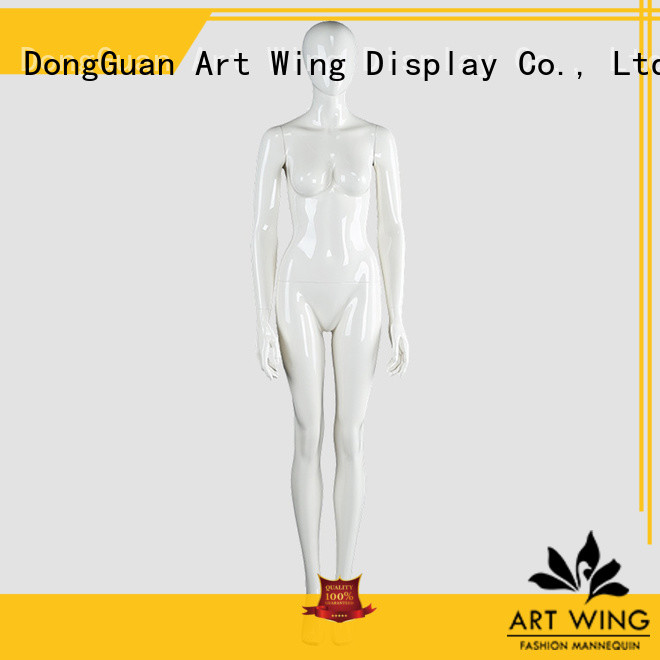 sturdy white full body female mannequin mannequin factory price for pants