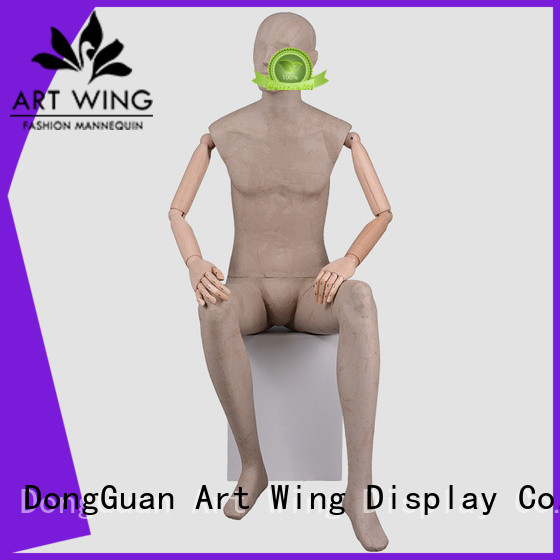 Art Wing mens mens torso mannequin factory for store