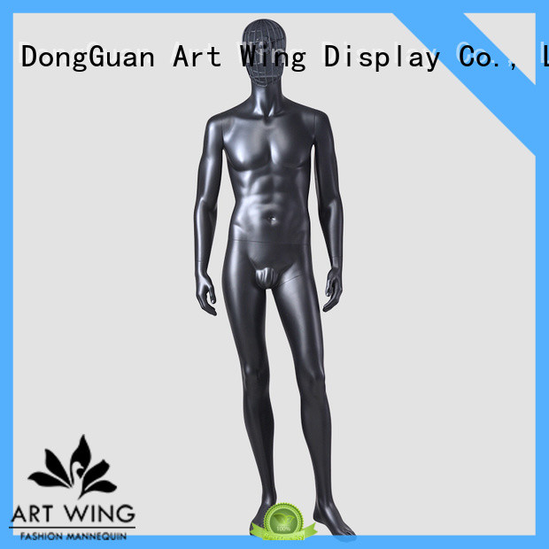 Art Wing professional change face mannequin window for cloth shop