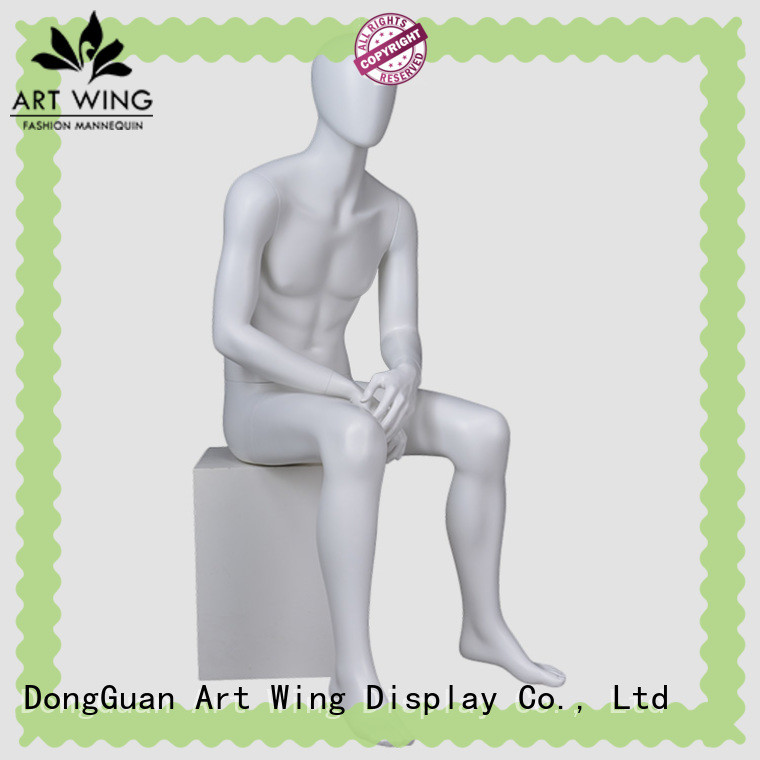 Art Wing matte male display mannequins factory price for pants