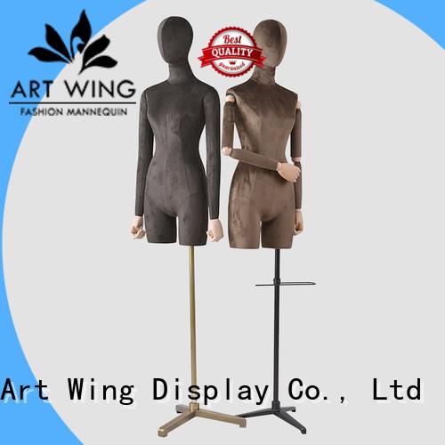 velet female mannequin dress form factory price for shrit Art Wing