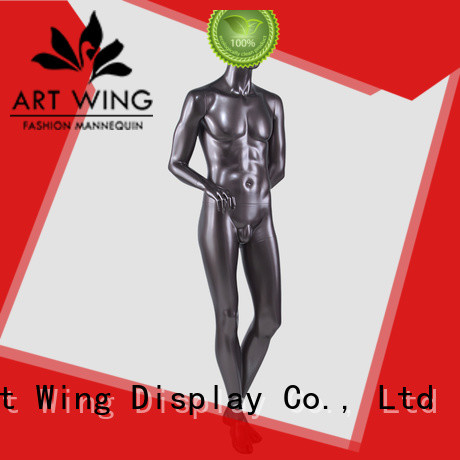Art Wing top quality transparent male mannequin inquire now for clothes