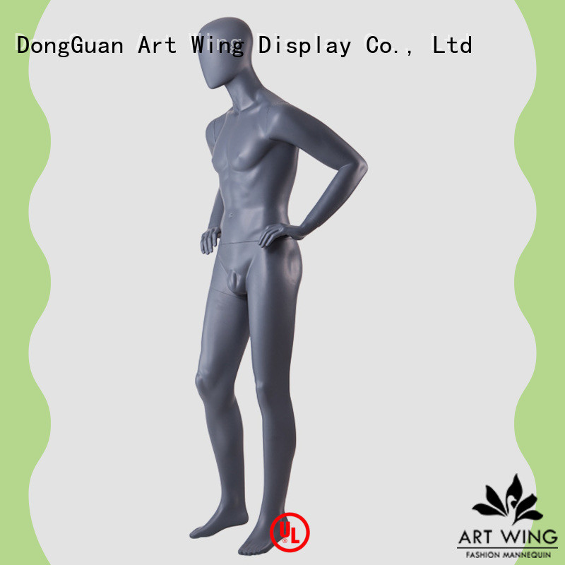quality sitting male mannequin muscle customized for mall