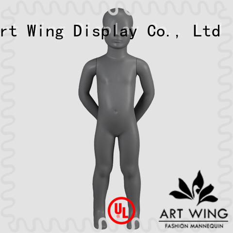 Art Wing top quality child dress mannequin design for store