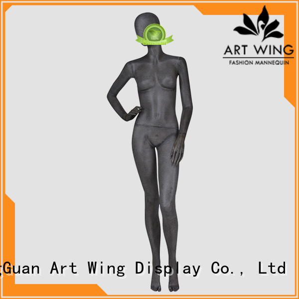 abstract t shirt mannequin from China for mall Art Wing