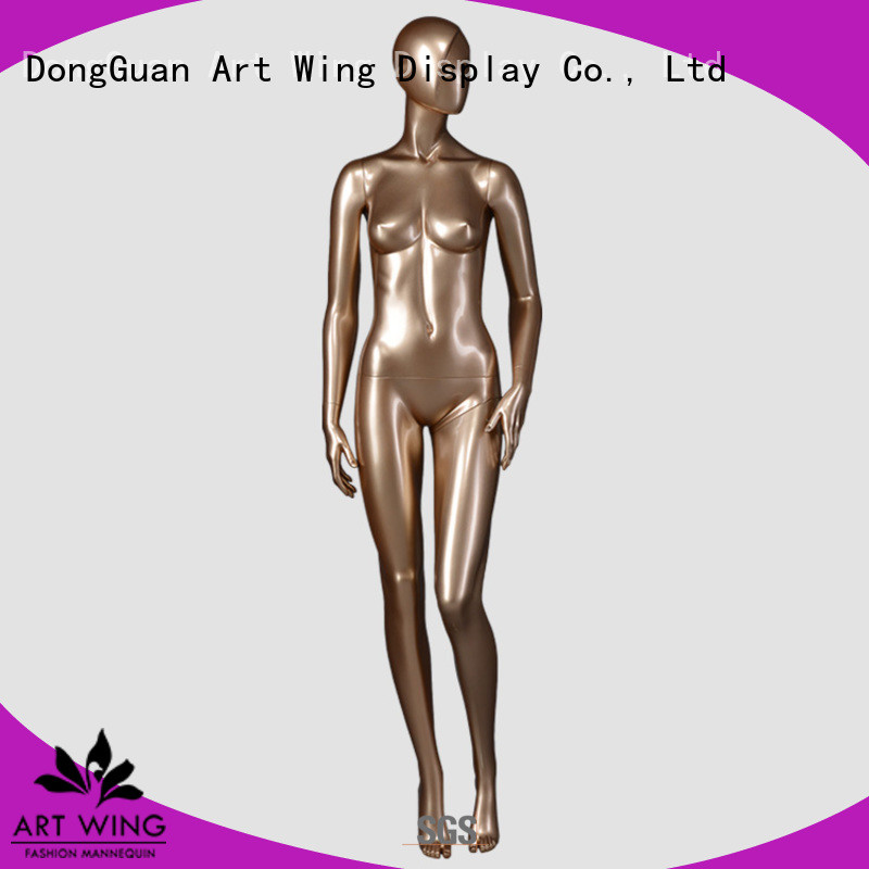 DYF-3 Fiberglass standing goden female mannequin for display