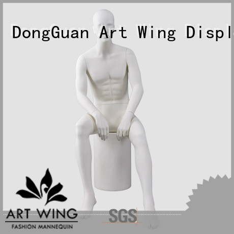 Art Wing sturdy cloth display model personalized for supermarket