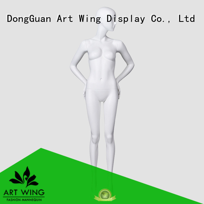 Art Wing quality female sitting mannequin factory price for supermarket