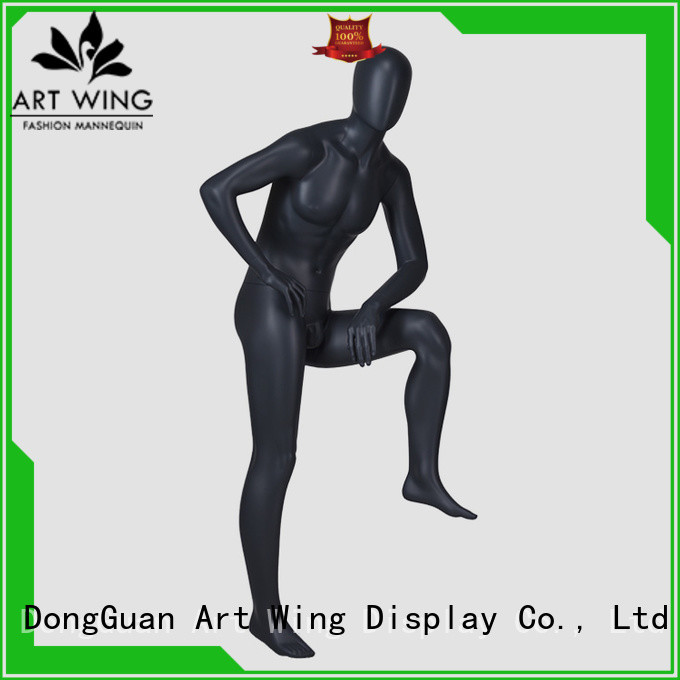 IAN-7 Standing full body high fashion mannequins male with bald head