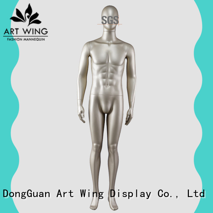 gold male mannequin sale for shop Art Wing