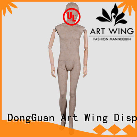 Art Wing dfmwptb tailors male mannequin with good price for clothes