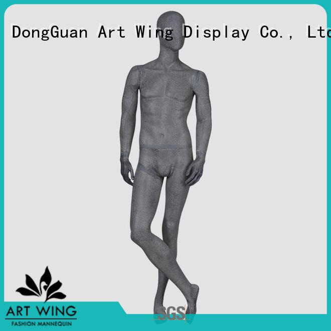 Art Wing matte clothes mannequin supplier for supermarket