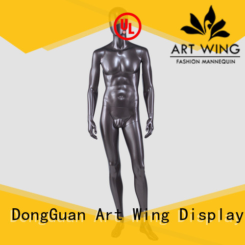 YSM-7 Full body mannequin standing naked male military mannequin