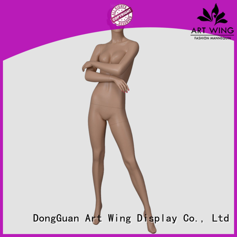 display kneeling mannequin from China for mall Art Wing