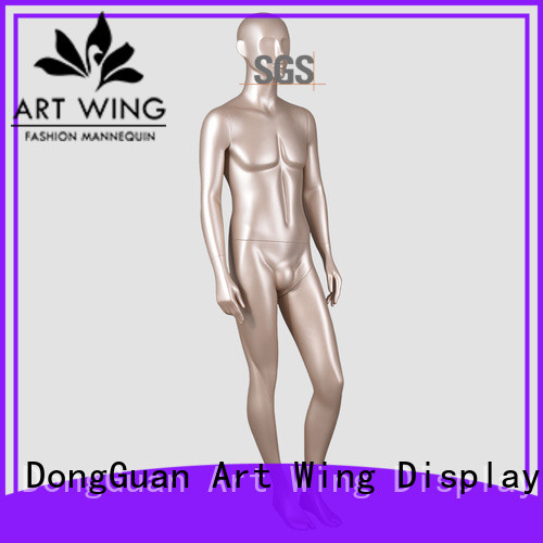 Art Wing gloden full mannequin customized for display