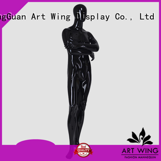 YB-6 Black clothing display male dummy full body fiberglass male mannequin