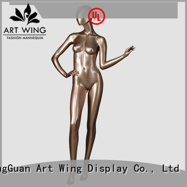 elegant vintage female mannequin goden design for store