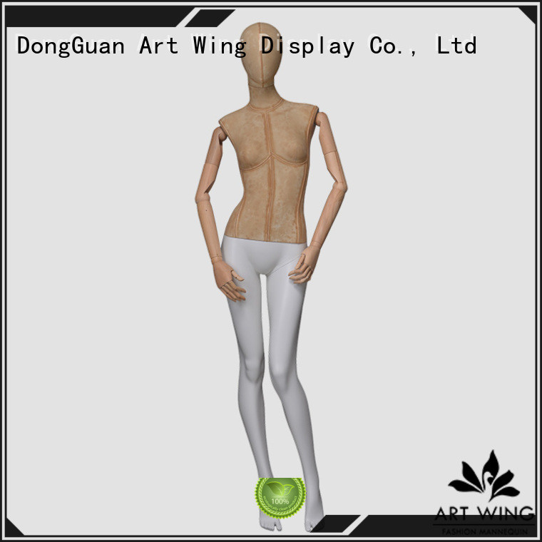top quality white female torso mannequin wrapped with good price for modelling