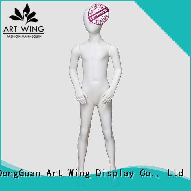Art Wing top quality child mannequin body design for clothes