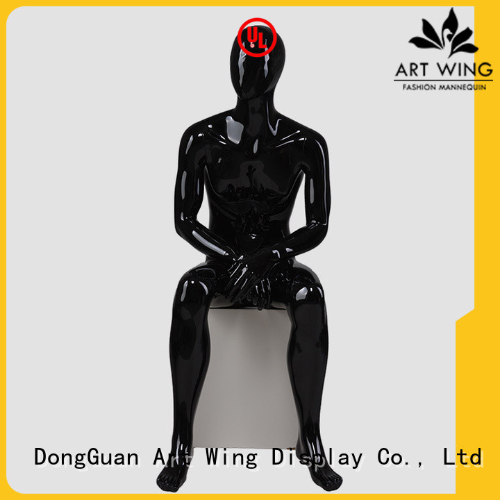 Art Wing fiberglass poseable mannequin factory price for pants