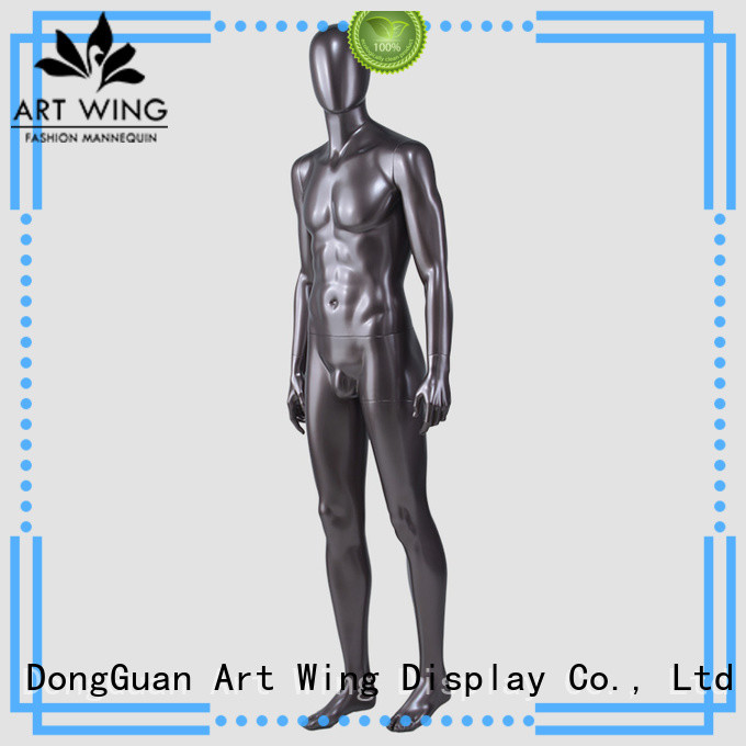 Art Wing muscle transparent male mannequin with good price for store
