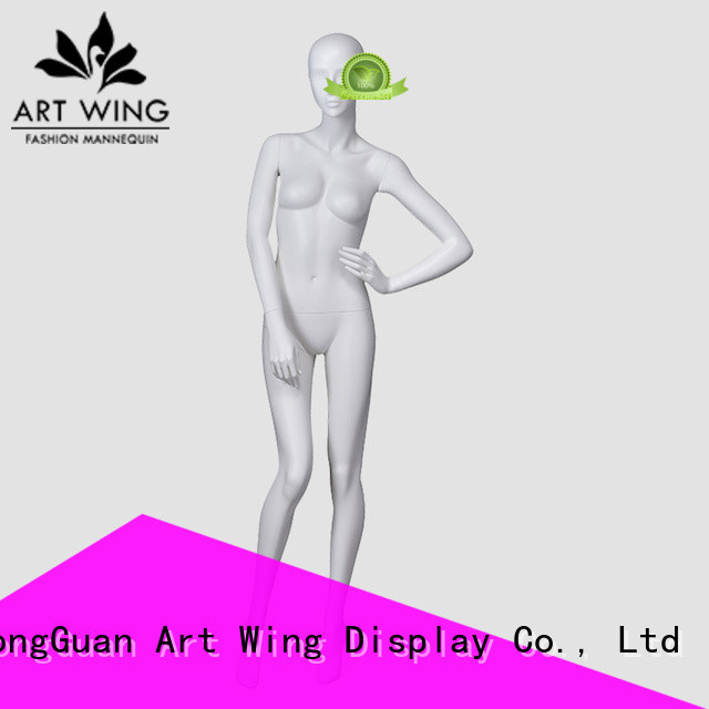 Art Wing color styling mannequins factory price for supermarket