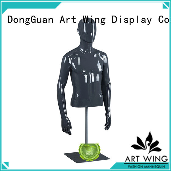 kba glossy black mannequin customized for shop Art Wing