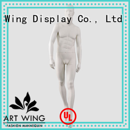 Art Wing customized dummy for displaying clothes wholesale for supermarket