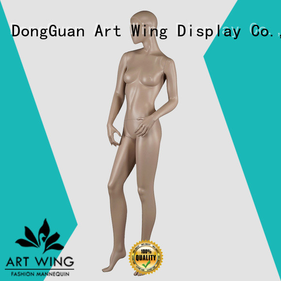 Art Wing standing women dummy directly sale for display