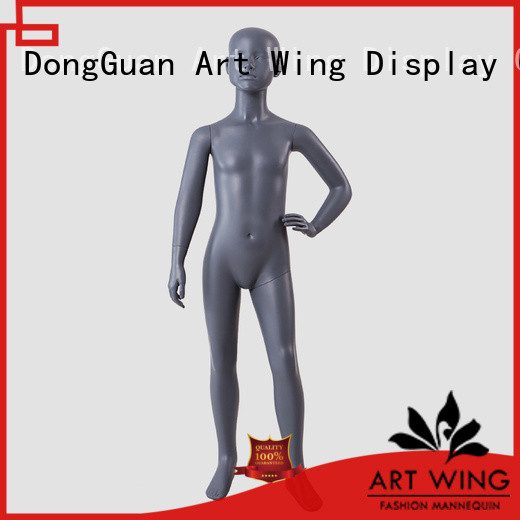 Art Wing displays child size mannequin supplier for shrit