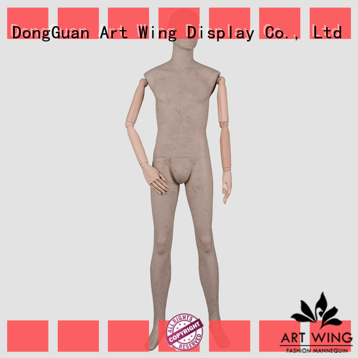 excellent male clothing mannequin dfmwptb factory for modelling