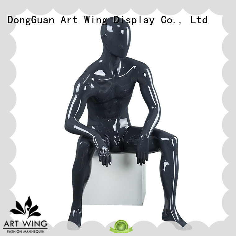 abstract store mannequin half for mall Art Wing