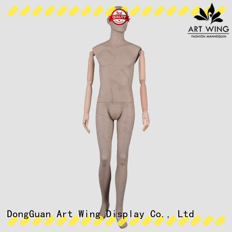 Art Wing dfmwptf mens torso mannequin with good price for store
