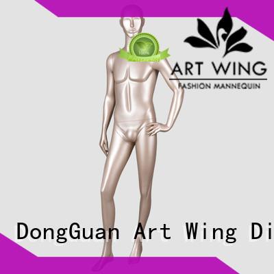 Art Wing men fashion manikin body manufacturer for mall