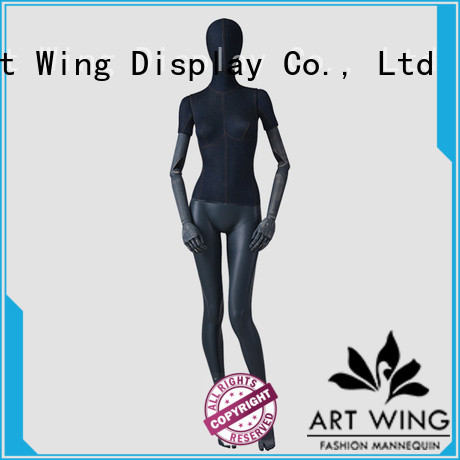 Art Wing tshirt faceless head mannequin inquire now for store