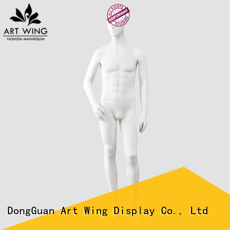 professional cloth display model sitting personalized for supermarket