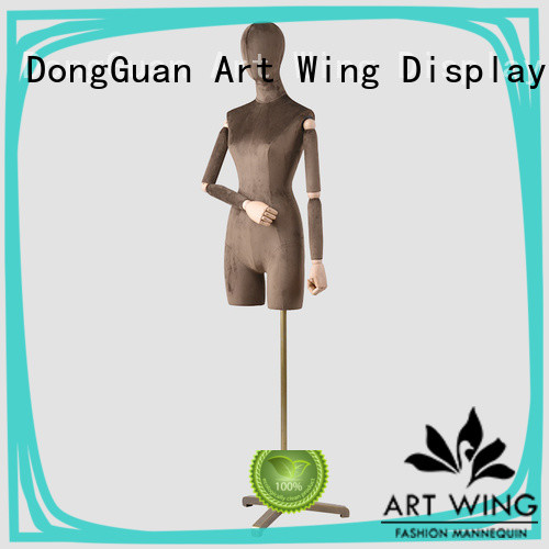 Art Wing certificated female half body mannequin personalized for cloth shop