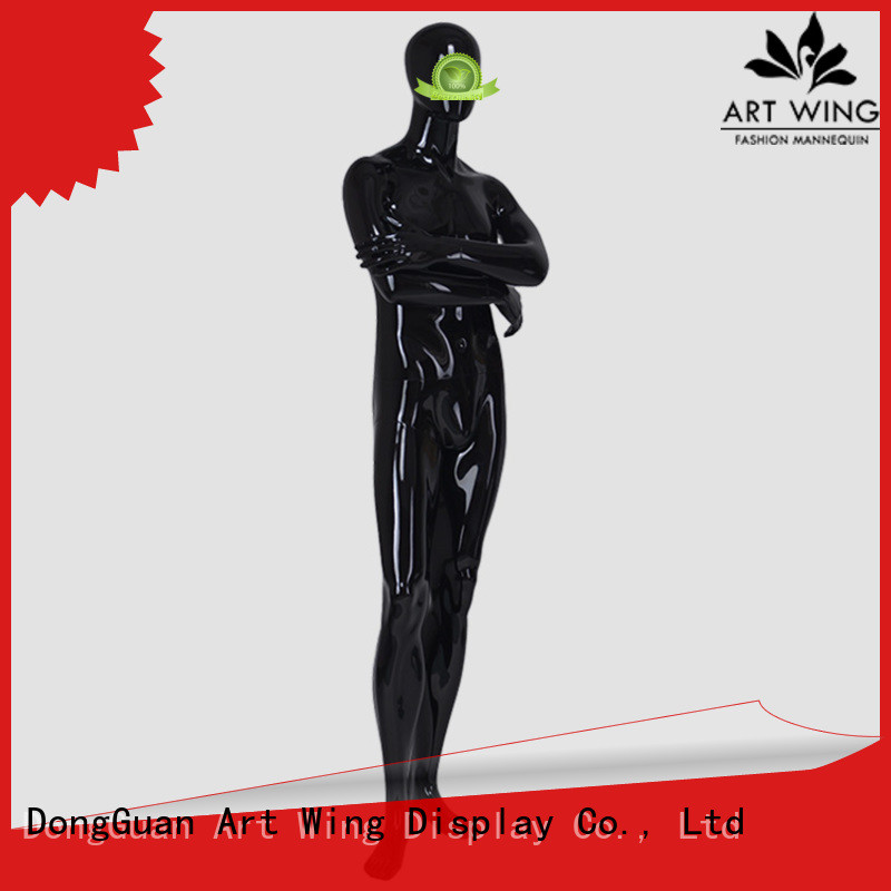 Art Wing certificated male dummy supplier for cloth shop