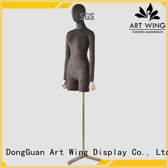 Art Wing sturdy female half body mannequin factory price for pants