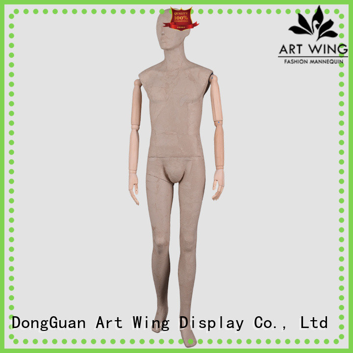 Art Wing cost-effective male clothing mannequin design for modelling