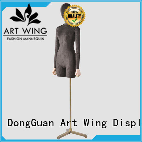 Art Wing stable custom dress form wholesale for supermarket