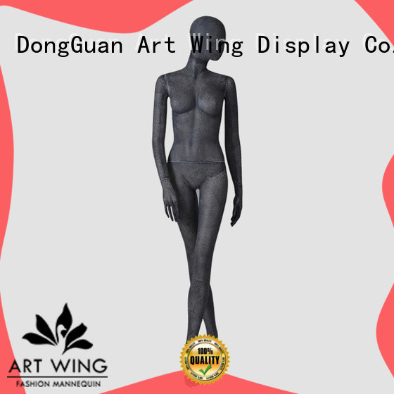 head mannequin body female poseable for store Art Wing