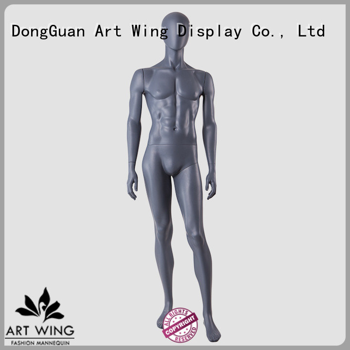 durable black male mannequin kentd customized for mall