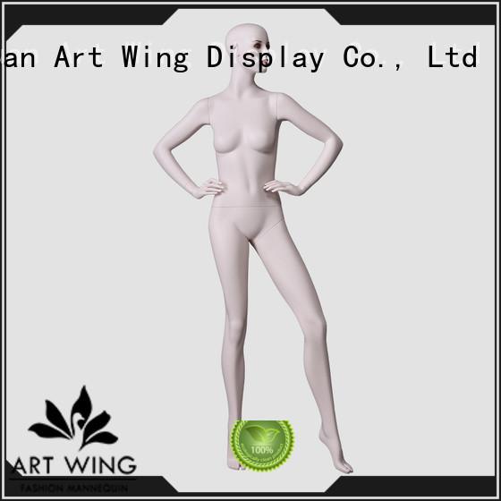 Art Wing ladies standing mannequin design for suit