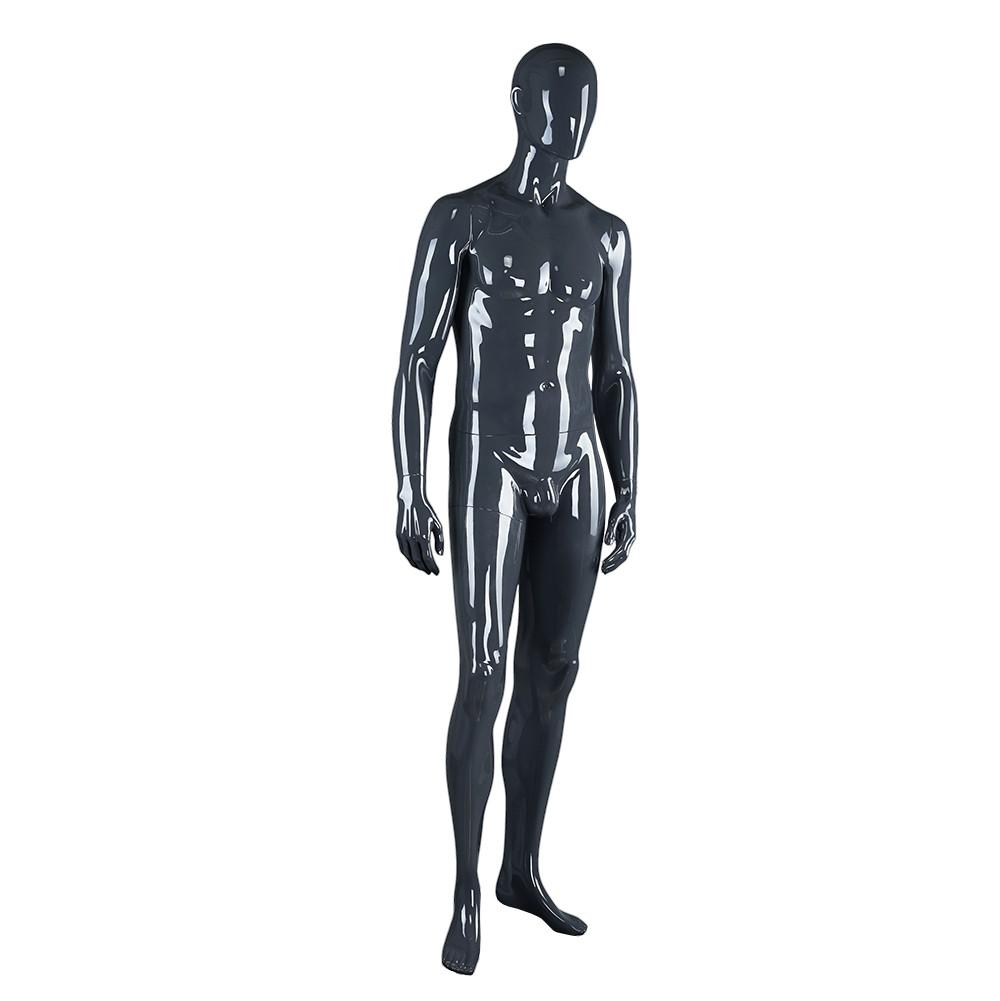 M2205-AH KB-A Black Gray 433B Bright Dress Dummy