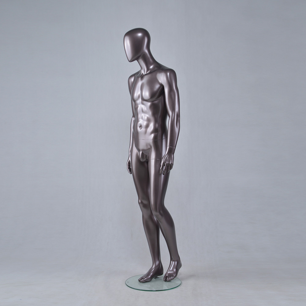 YSM-11 Full body male mannequin black man size male mannequin