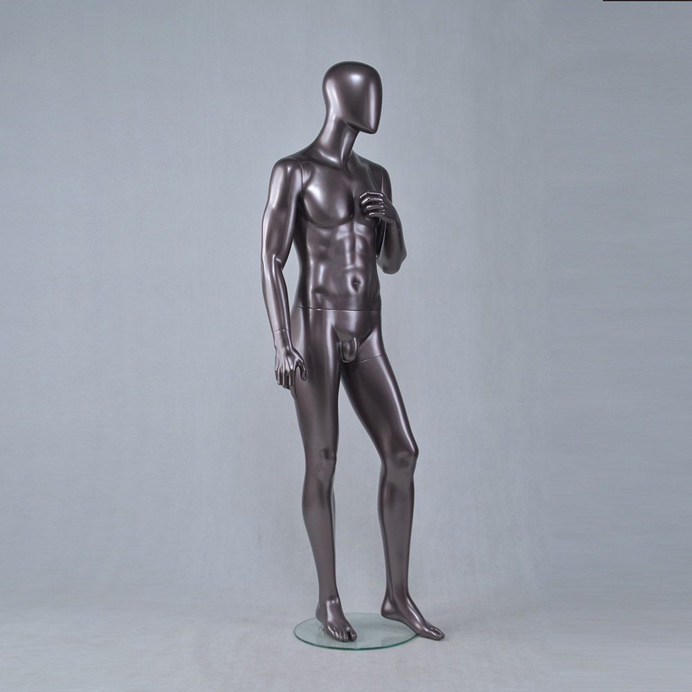YSM-4 Fashion muscle mannequin male full body shop mannequins