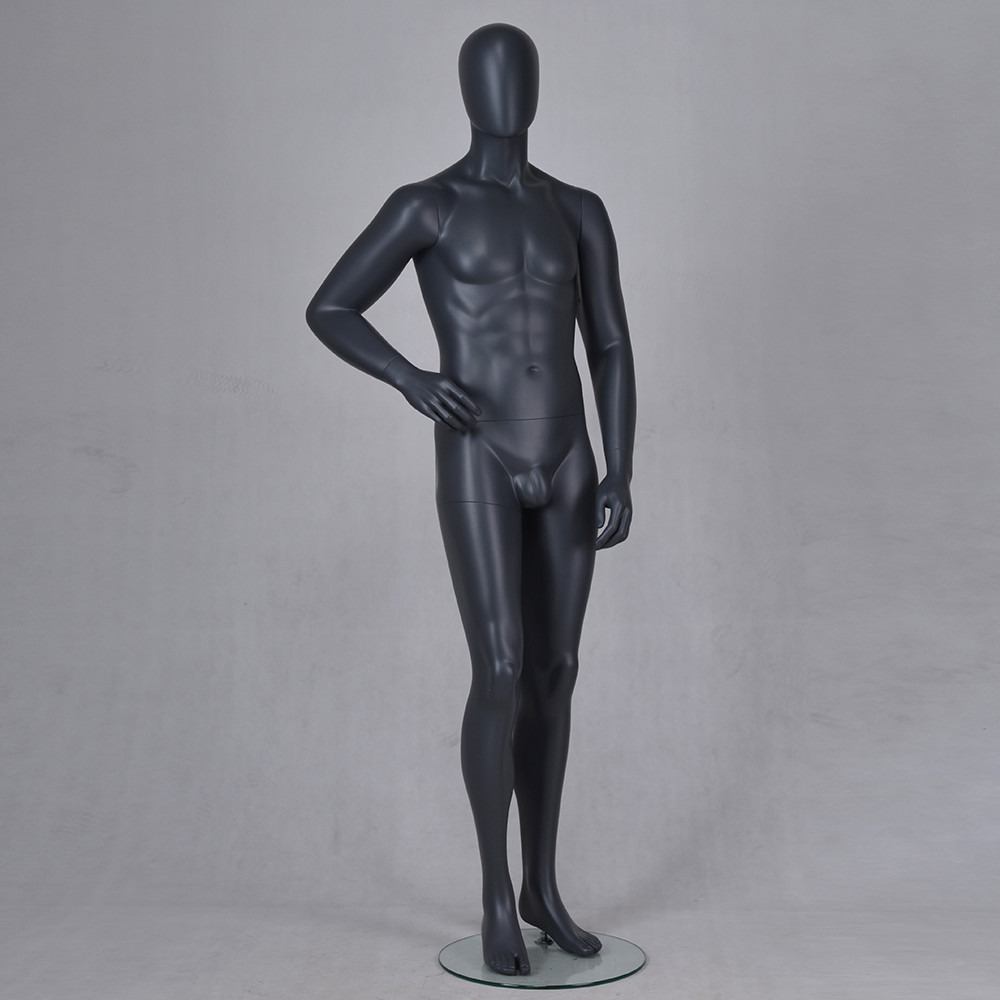 IAN-3 Black abstract male mannequin cloth full body men suit display mannequin