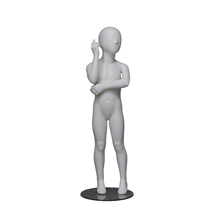 PRIM-227 Lovely kids mannequin standing full body for window display